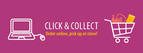 Choose Click & Collect: order and pay online and collect your purchases in our store in Wittisheim