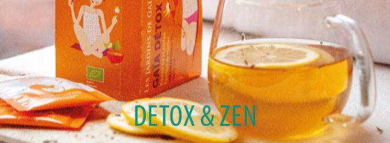 Discover our selection of teas and herbal teas Detox & Zen, good for body and mind, which will allow you to spend the winter in complete serenity