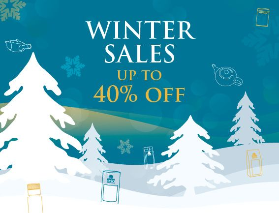 Enjoy up to 40% off a selection of organic teas, herbal teas and spices
